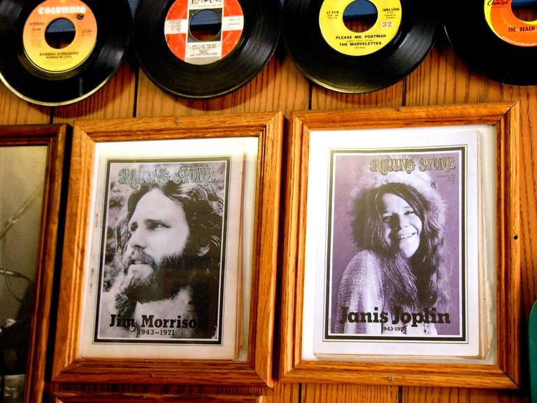 Jim Morrison and Janis Joplin | © Kathleen Conklin/Flickr