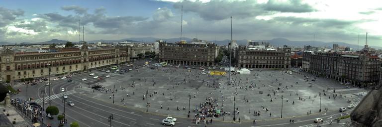 Mexico City zócalo | © Eneas De Troya/FLickr