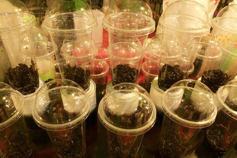 Black grass jelly