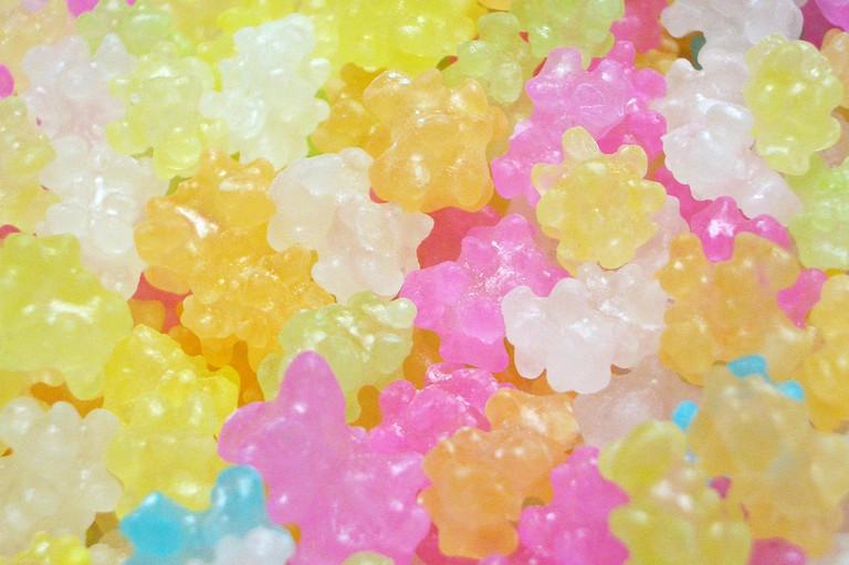 Japanese konpeito candy | © aki sato/Flickr