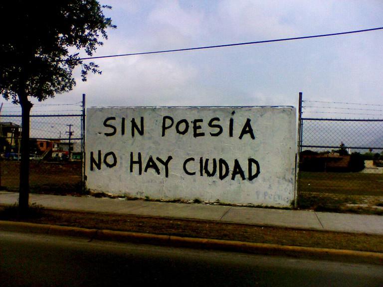 'Sin poesía no hay ciudad' | © jrsnchzhrs/Flickr