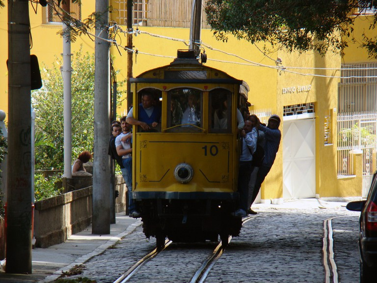 The famous tram of Santa Teresa |© Rodrigo Soldon/Flickr