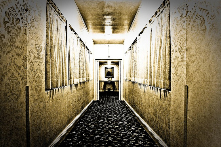 Taken at the Menger Hotel, Downtown San Antonio, which is believed to be a haunted hotel | © Abe Novy/Flickr
