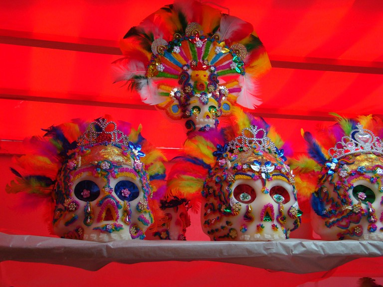 Decorative sugar skulls | © Jorge Nava/Flickr