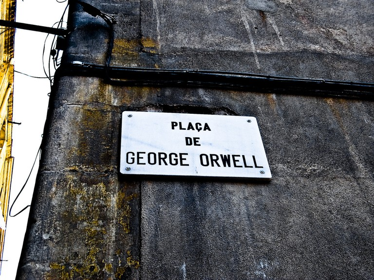 Barcelona's homage to Orwell | © Matthias Guntrum