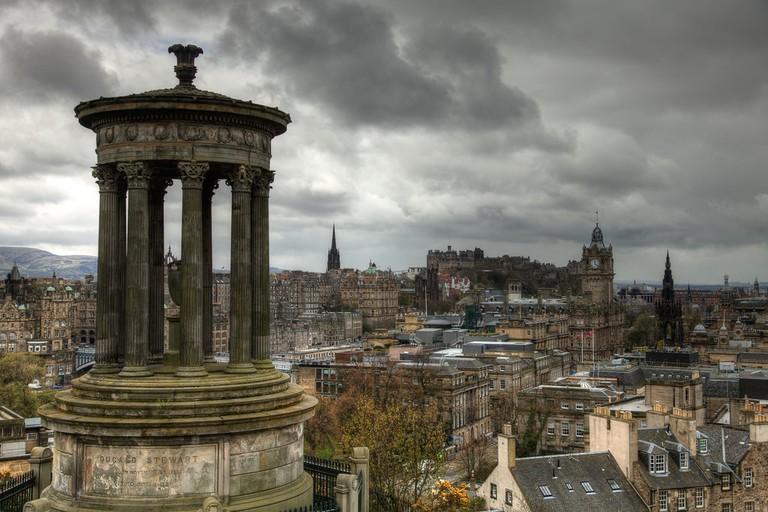 Edinburgh From Calton Hill | © Danny Navarro/Flickr