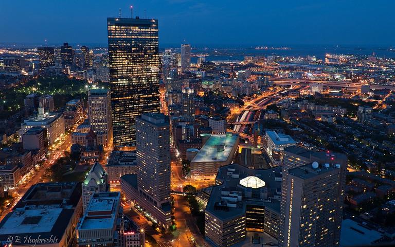Boston by night  ©Emmanuel Huybrechts/Flickr