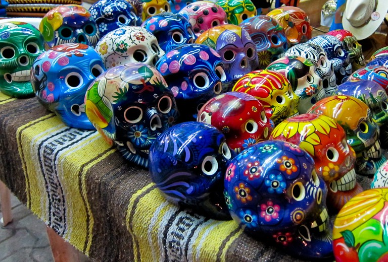 Clay sugar skulls | © Michael (a.k.a. moik) McCullough/Flickr