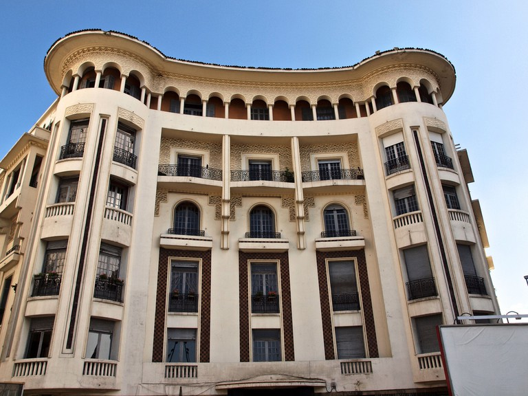Art Deco building in Casablanca | © Sandra Cohen-Rose and Colin Rose/Flickr