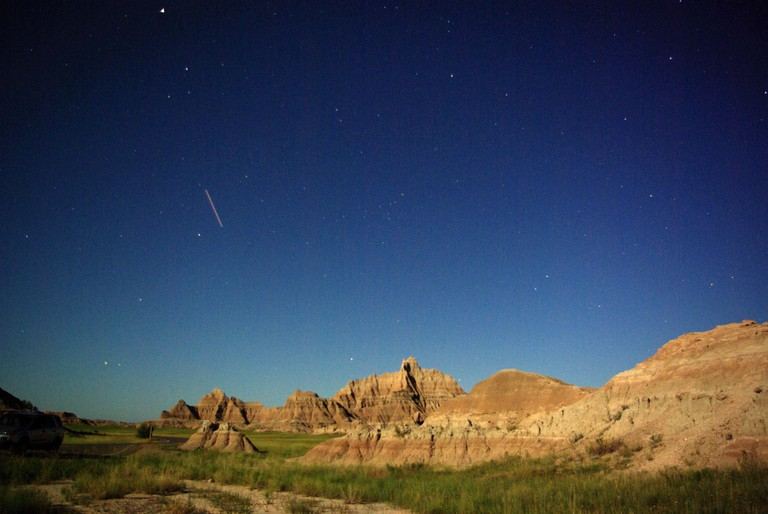 Cedar Pass & Stars | © Badlands National Park/Flickr