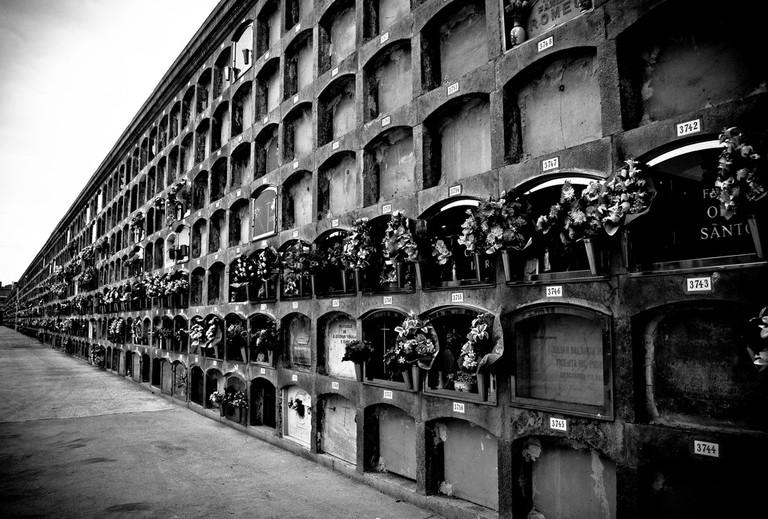 The Poblenou cemetery | ©Davidlohr Bueso