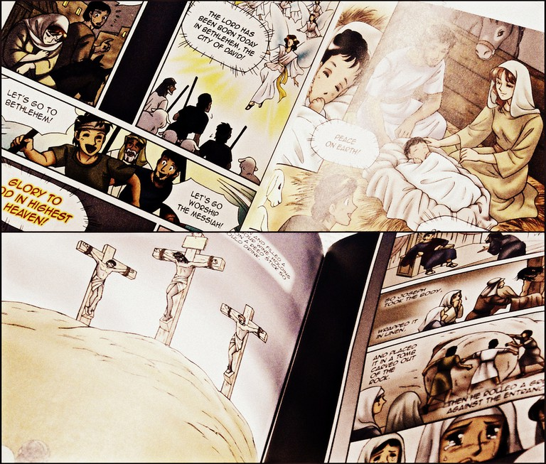 A manga-style adaption of the Bible | © Micah Danao/Flickr