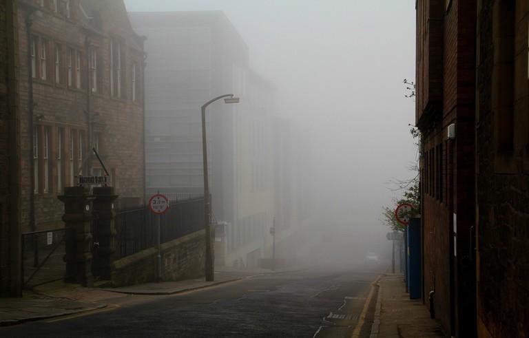 Edinburgh Empty Fog | © Shannon Kringen/Flickr