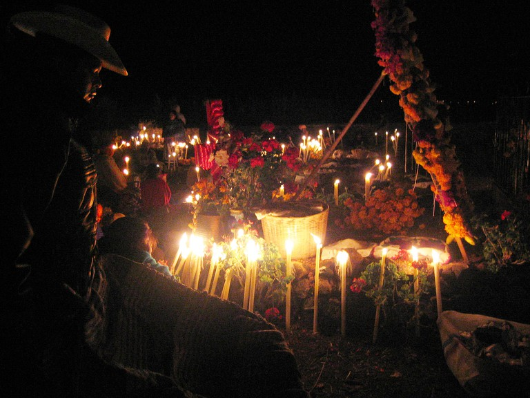 Pátzcuaro, Michoacán during Day of the Dead