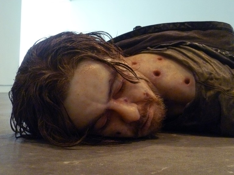 Jeremy Millar, Detail of Self-Portrait as a Drowned Man (The Willows), 2011. Courtesy of the artist.