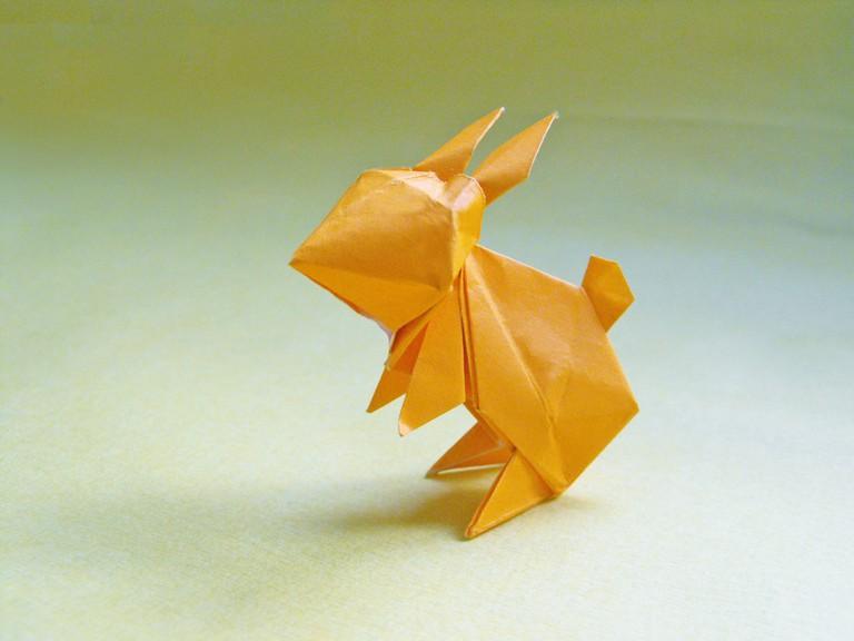 An origami rabbit | © Alejandro De La Fuente/Flickr