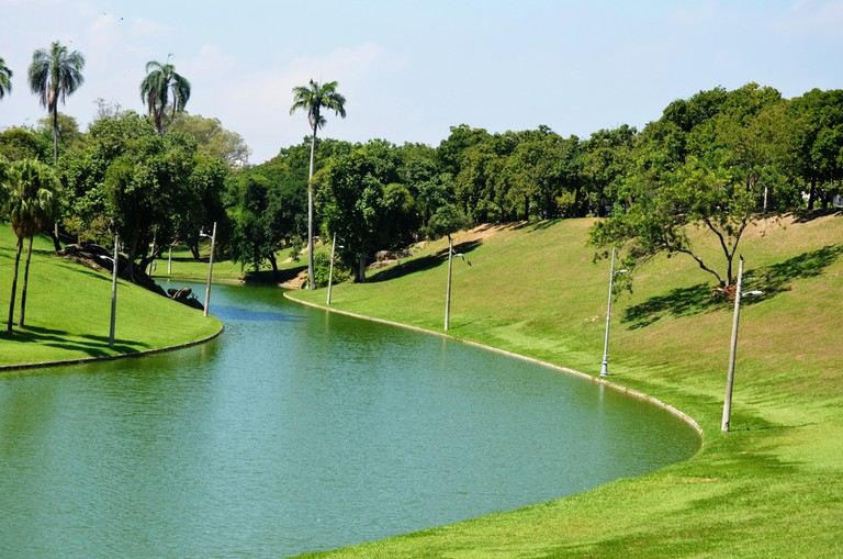 The gardens of Quinta da Boa Vista