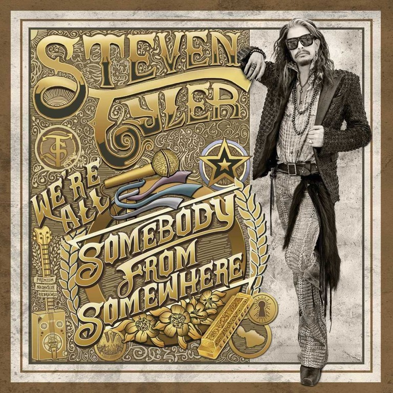 "Steven Tyler ""We're All Somebody from Somewhere"""