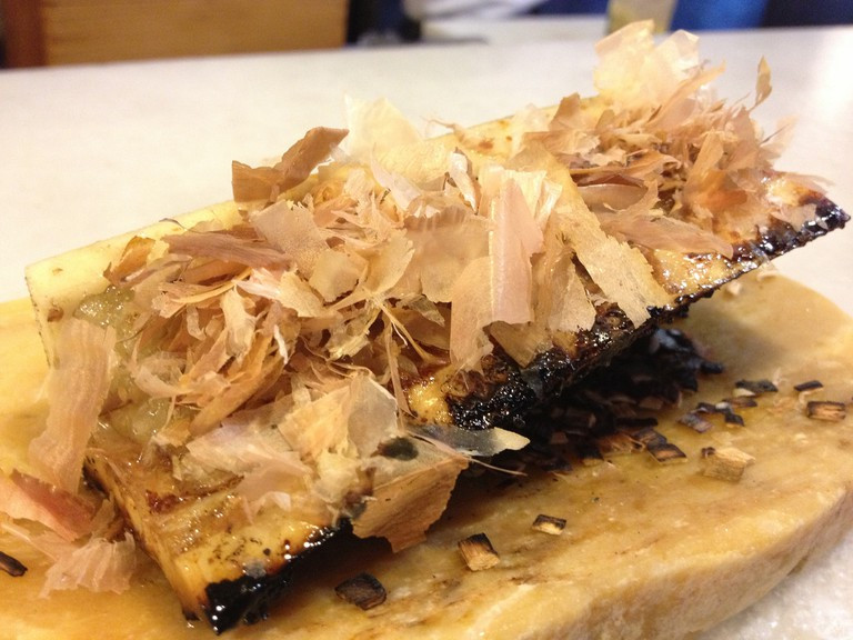 Teriyaki bone marrow at Dos Palillos | © Joselu Blanco