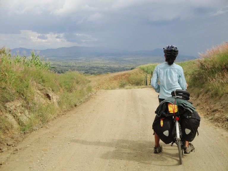 Mountain biking in Oaxaca