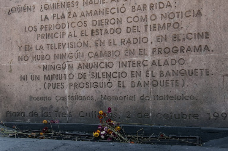 Tlatelolco memorial | © francis mckee/Flickr