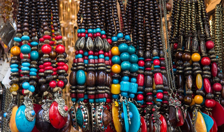 Beaded jewellery |© Andrew Moore/Flickr