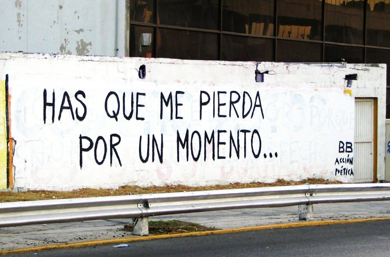 'Has que me pierda por un momento' | © eperales/Flickr