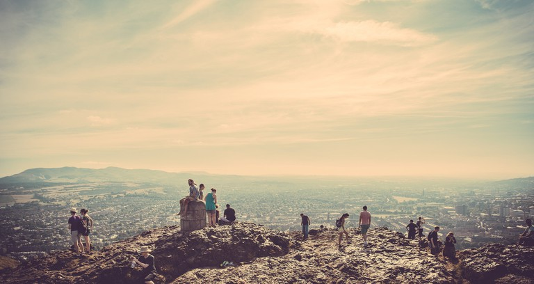 Atop Arthur's Seat | © easy-lucky-free/Flickr