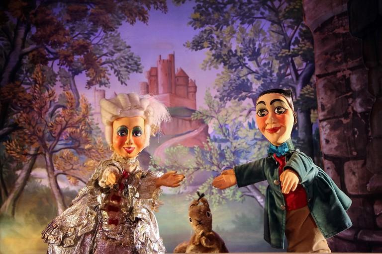 A show at the Marionetttes du Champ de Mars │ Courtesy of the Marionetttes du Champ de Mars