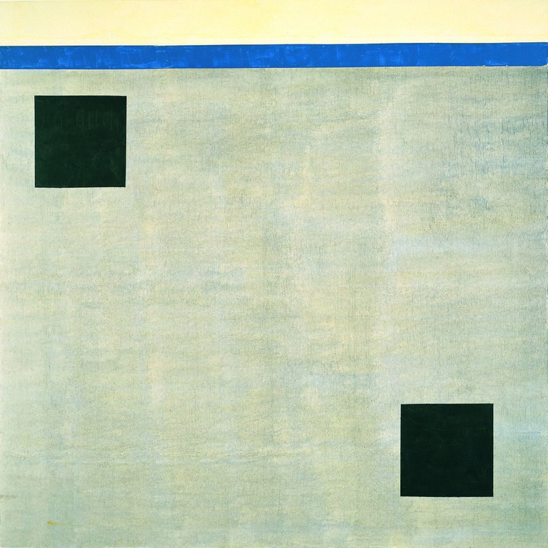 Agnes Martin Untitled, 2004 Acrylic on canvas 60 x 60 inches (152.4 x 152.4 cm) Collection of Mitzi and Warren Eisenberg © 2016 Agnes Martin/Artists Rights Society (ARS), New York
