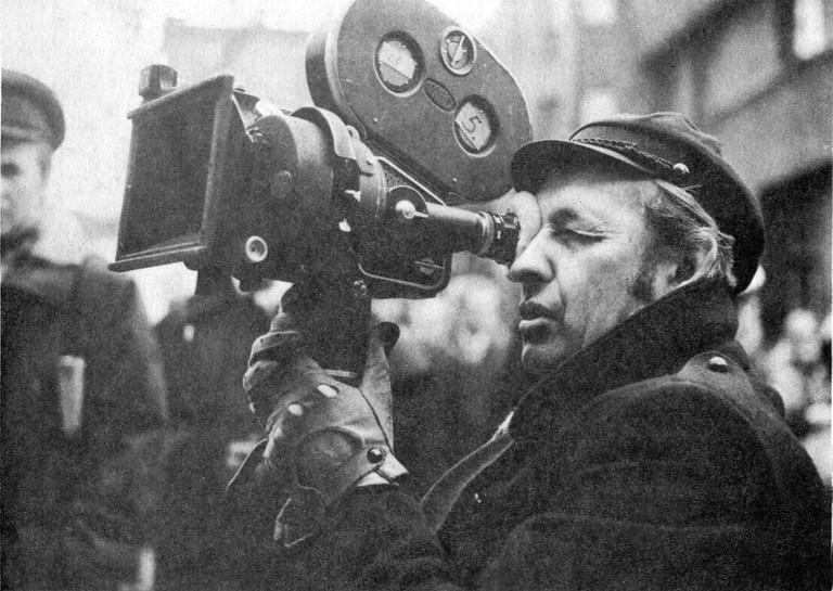 Andrzej Wajda in 1974 © WikiCommons