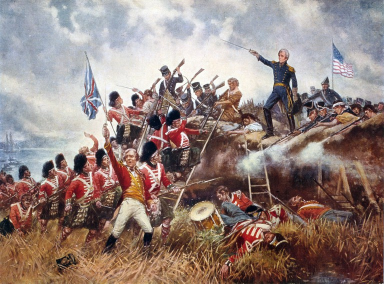 The Battle of New Orleans | Painting/Library of Congress