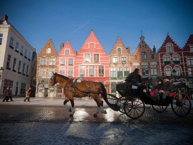 Bruges market | © Jan Darthet/courtesy of Toerisme Brugge