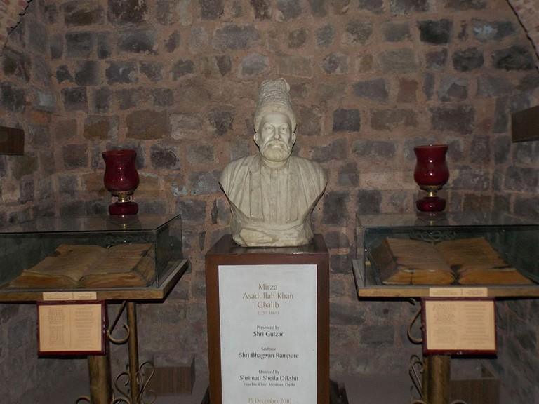Bust of Mirza Ghalib|© Anwaraj/WikiCommons
