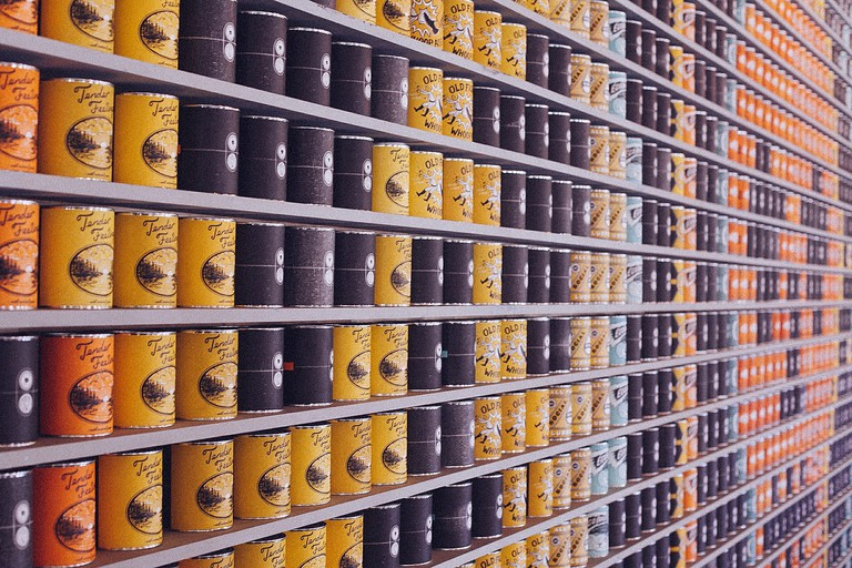 Cans of food │© PublicDomainArchive