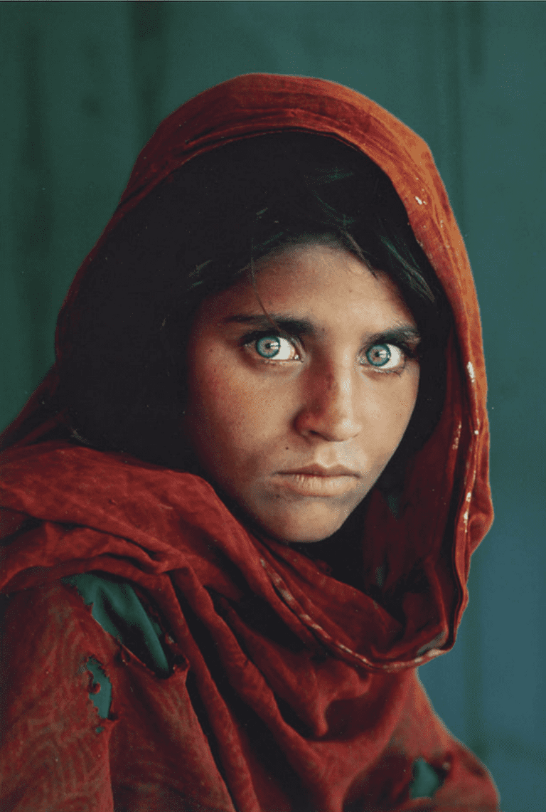 Afghan Girl by Steve McCurry|cea+/Flickr