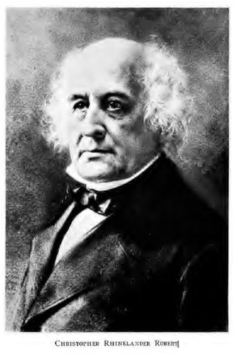 Christopher Robert, founder of Robert College