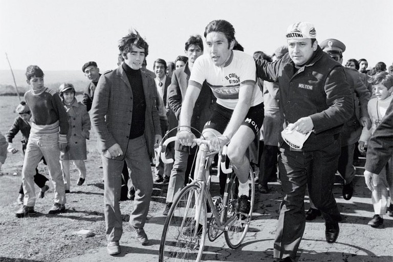 Eddy Merckx in 1971 | © ktk17028/Flickr