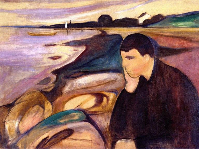 Edvard Munch - Melancholy (1894) | © The Athenaeum/WikiCommons