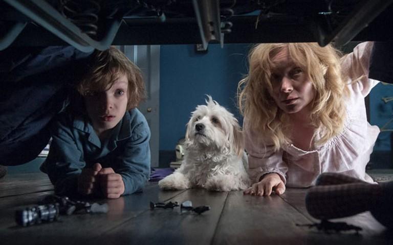 Noah Wiseman and Essie Davis in 'The Babadook'