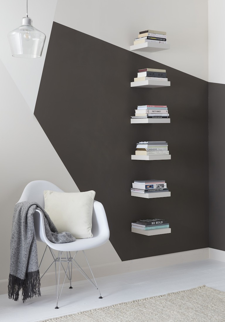 Form floating bookshelf from B&Q