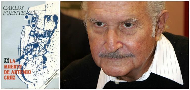 © El Fondo de Cultura Económica / Carlos Fuentes | © Abderrahman Bouirabdane/WikiCommons
