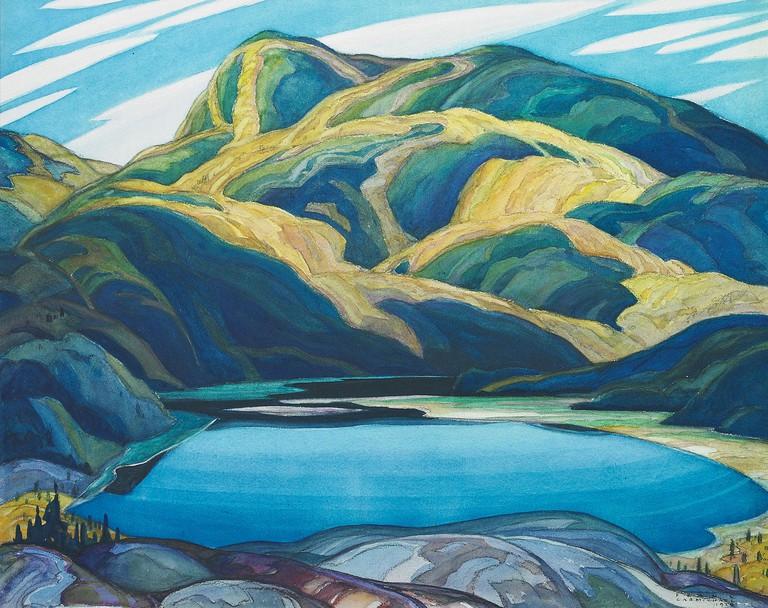 Lone Lake by Franklin Carmichel (1929)   Public Domain/WikiCommons