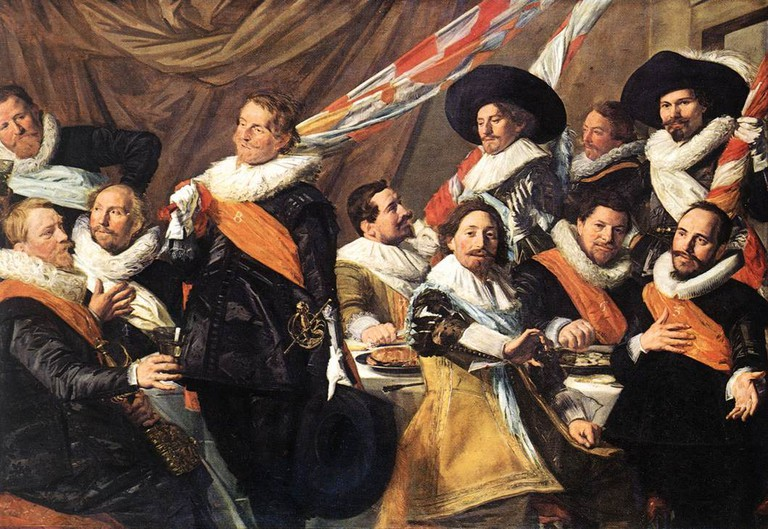 Frans Hals: Banquet of the Officers of the St George Civic Guard Company, 1627