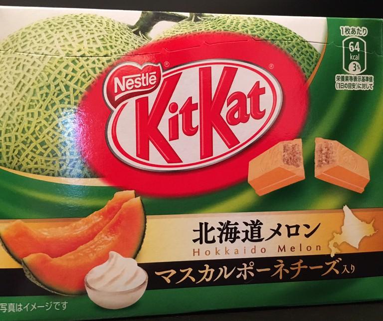 Hokkaido melon KitKat | © Alicia Joy