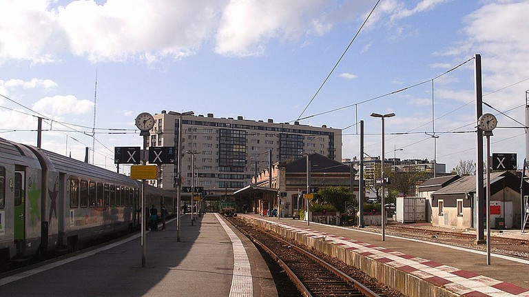 Gare de Cherbourg │© Mirek237