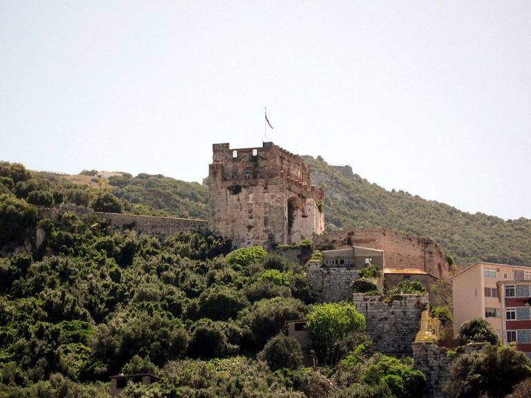 Gibraltar's Moorish Castle | © OlafTausch