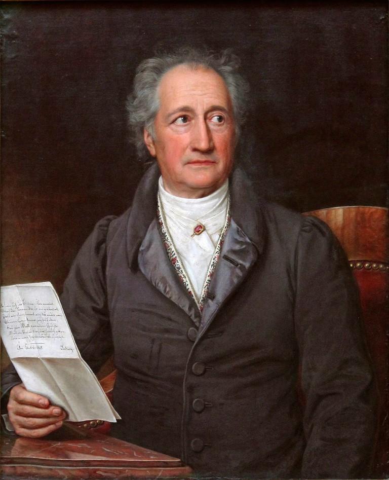© Johann Wolfgang von Goethe/WikiCommons
