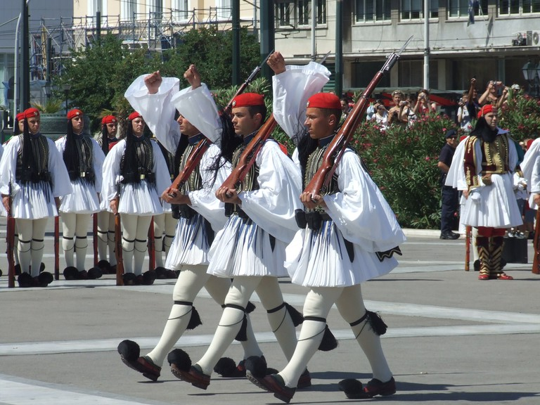 Greek Guard uniforms