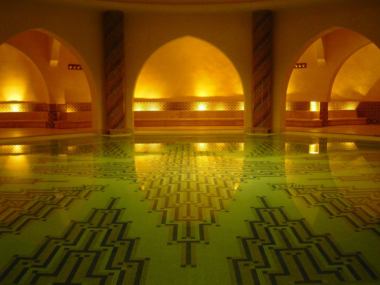 Hammam in King Hassan II Mosque